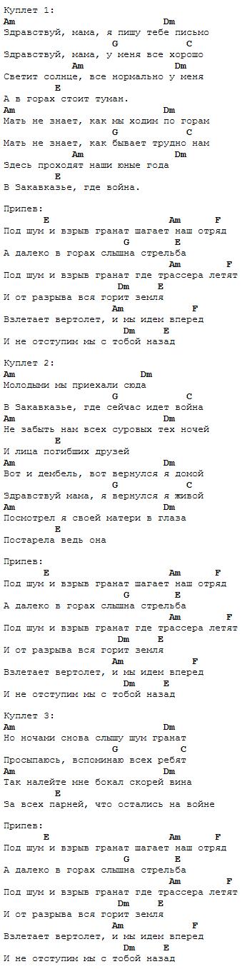 Бой к песне Здравствуй мама